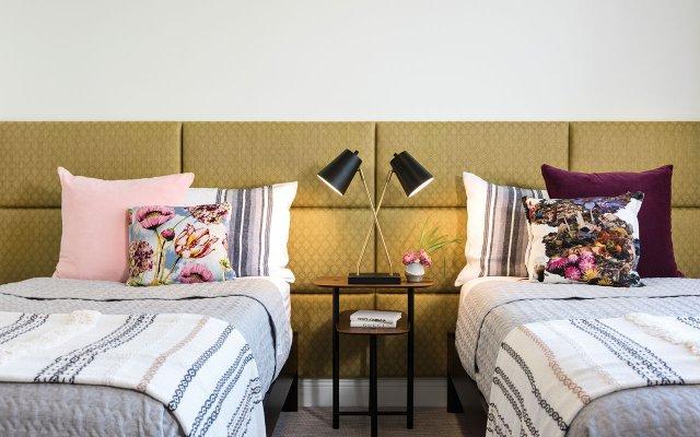 Guest room inside a Naples condo