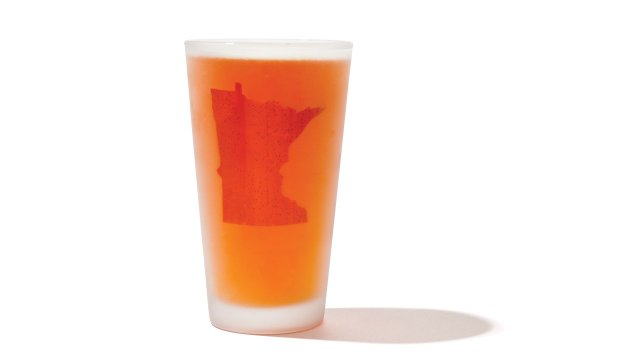 Minnesota beer glass