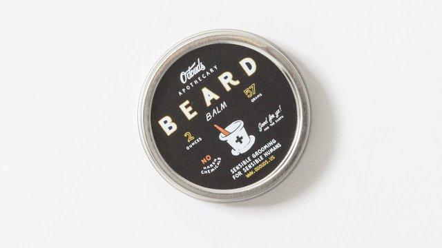Beard balm.