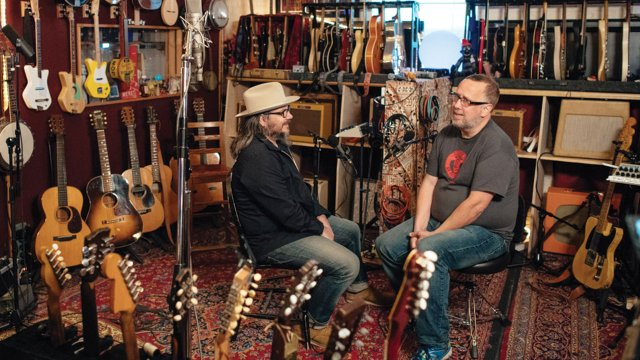 John Moe and Jeff Tweedy