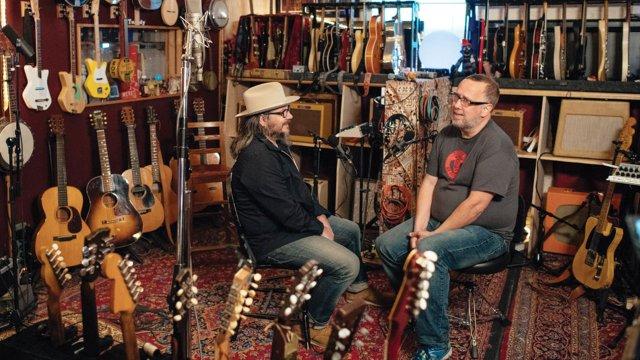 John Moe and Jeff Tweedy
