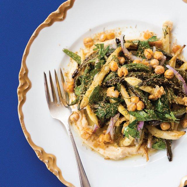 Green bean salad at Hyacinth