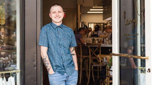 Hyacinth chef and owner Rikki Giambruno
