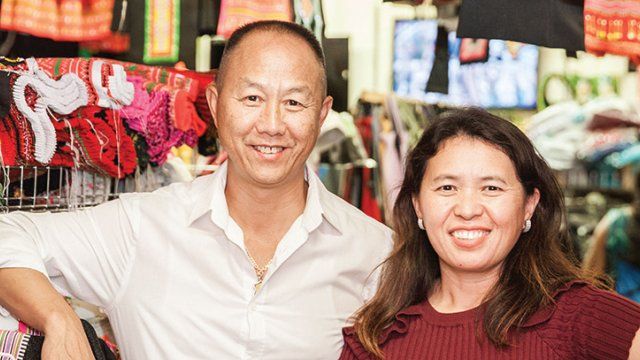 St. Paul's HmongTown's creator Toua Xiong and his wife Nou Vang