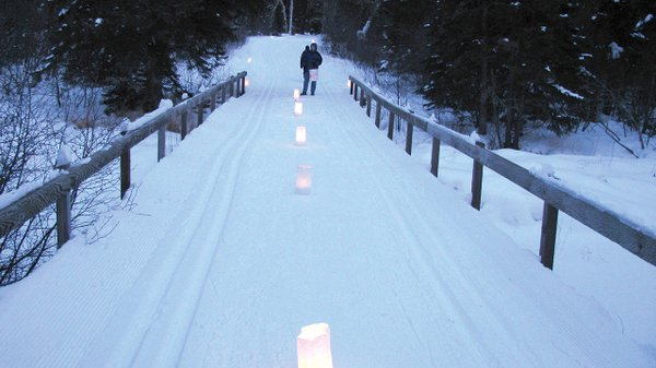 Candle Light Path