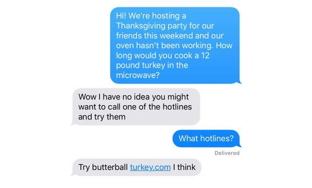 Madison's dad's text