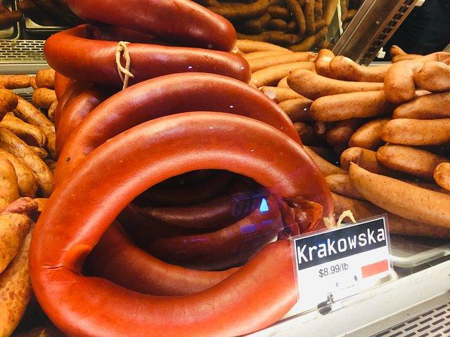 Kramarczuk krakowska sausage