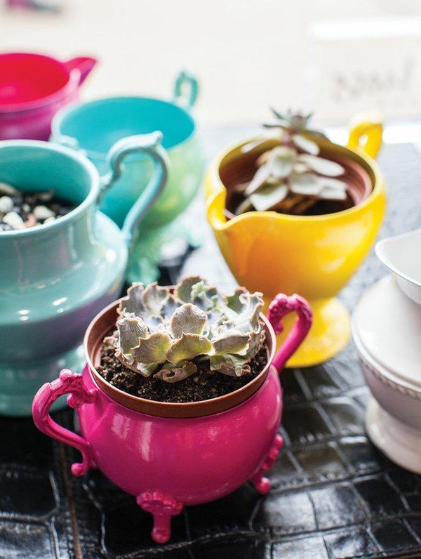 Plant pots by Julia Moss
