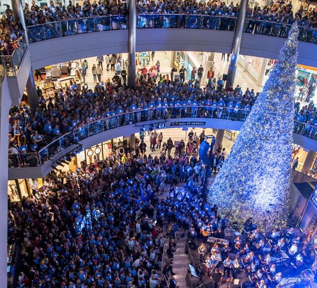Mall of America, holiday season