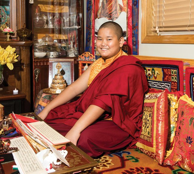 Jalue Dorje, the first Tibetan Lama ever born in Minnesota