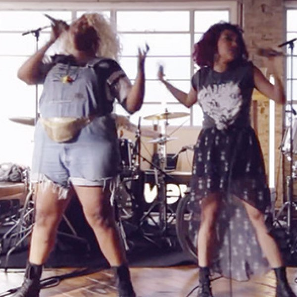 "Sophia Eris and Lizzo in the music video for ""Batches & Cookies"""