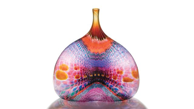 Glass art by Stephen Rowlfe Powell