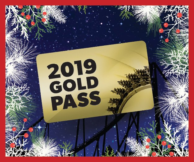 Holiday Gift Guide 2019 Gold Pass graphic