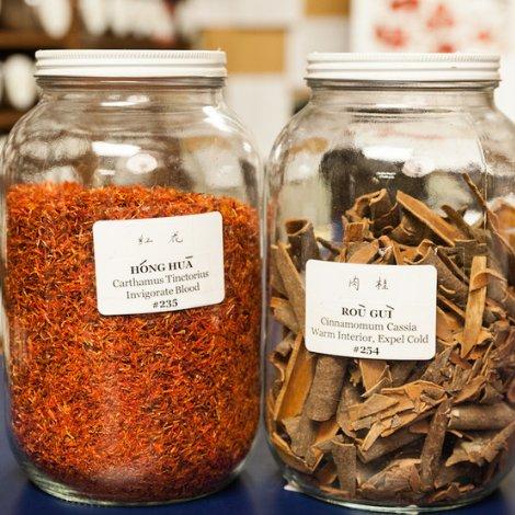 Chinese Herb Jars