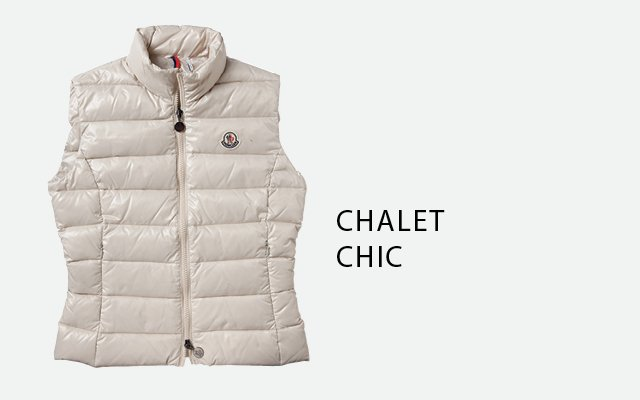 Ski vest, by Moncler, from Melly