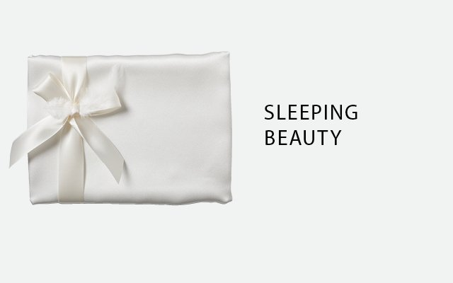 Silk pillowcase, by Beauty Sleep 101, from Room No. 3