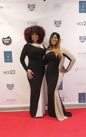 Coco and Lala at Minnesota Oscars