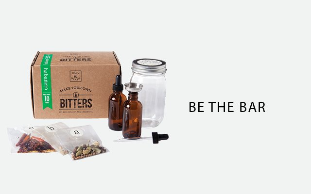 Make Your Own Bitters by Easy & Oskey