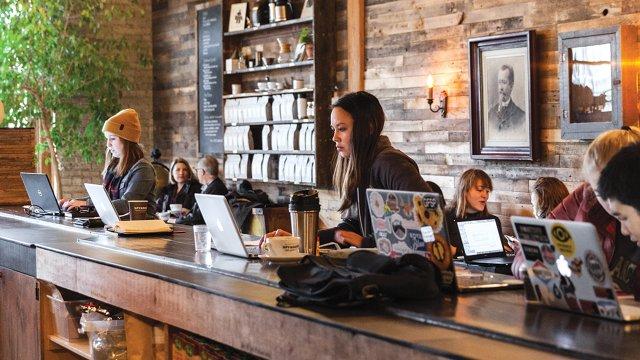 Sphyhouse Coffee Interior