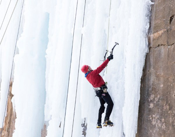 Ice Climbing at Robinson Park