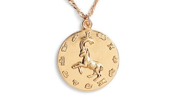 Capricorn Star Mate zodiac necklace