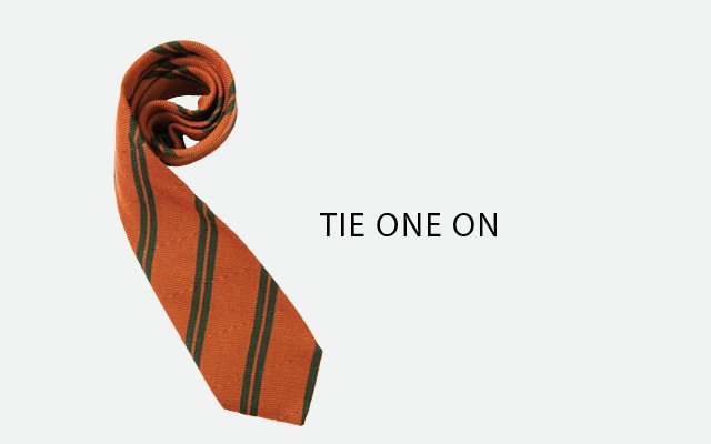 Silk Tie by Seaward & Stearn, from Heimie's Haberdashery