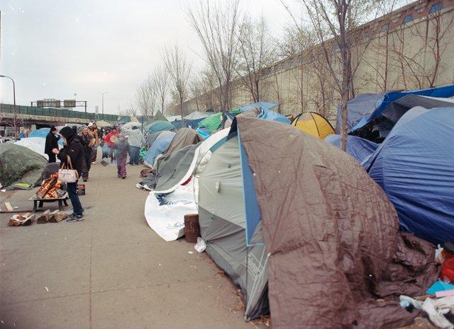 Hiawatha Tent Encampment