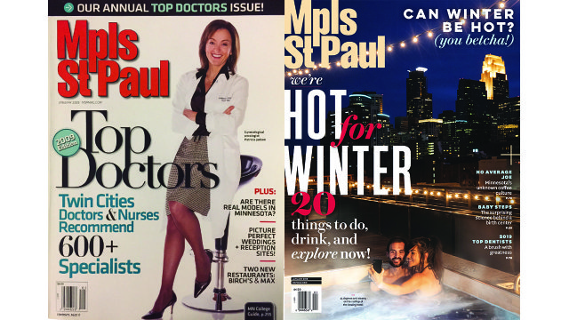 January 2009 and January 2019 covers