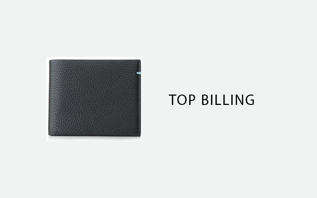 Stitch Billfold Wallet, by Tiffany & Co.