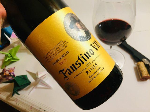 Liquor Boy Faustino VII 2015 Rioja
