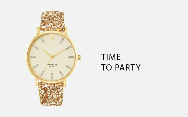 Mix and Match Metro Grand Watch by Kate Spade