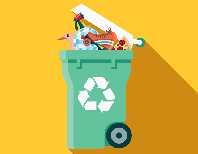 Recycling illustration