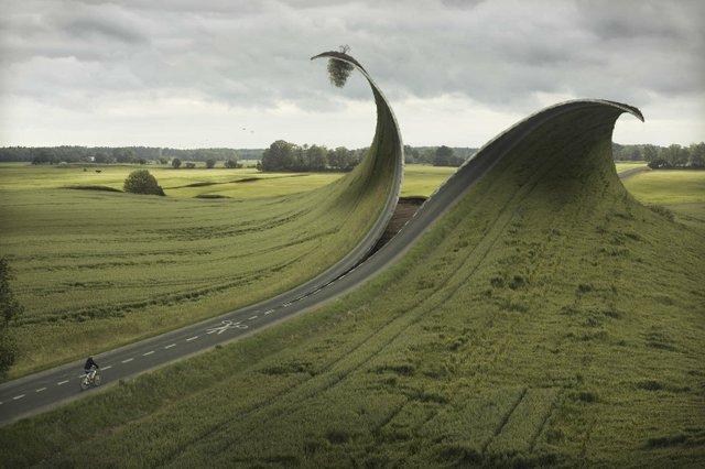 """Cut and Fold"" by Erik Johansson"
