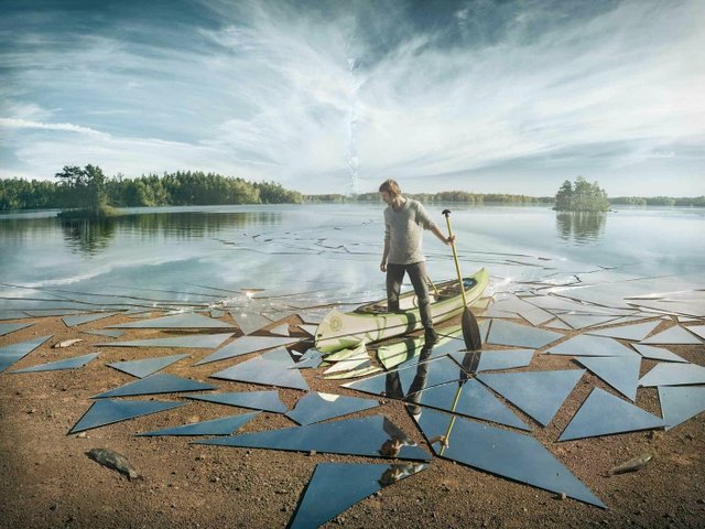 """Impact"" by Erik Johansson"