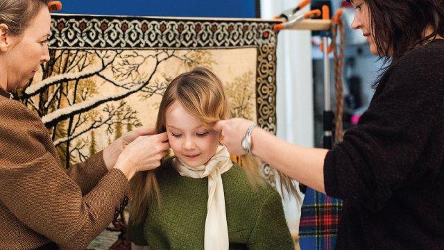 4: Shelly Mosman styling hair