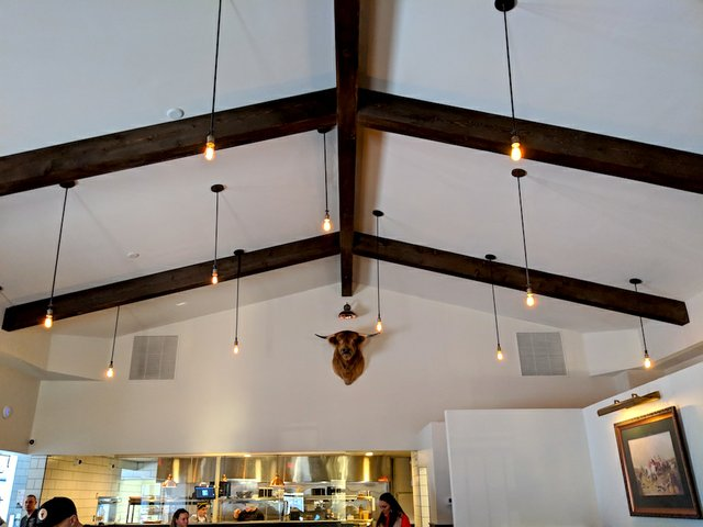 Interior of Copper Cow Kitchen & Bar