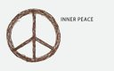 Inner Peace Wreath from cb2