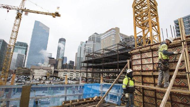 Downtown Minneapolis Construction