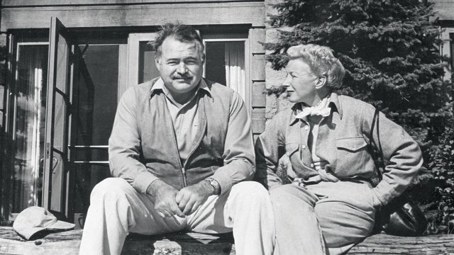 Ernest Hemingway and Mary Walsh