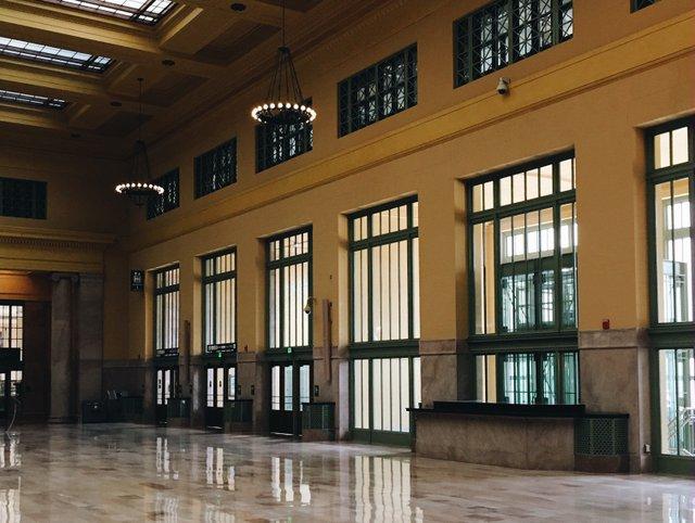 Union Depot Interior