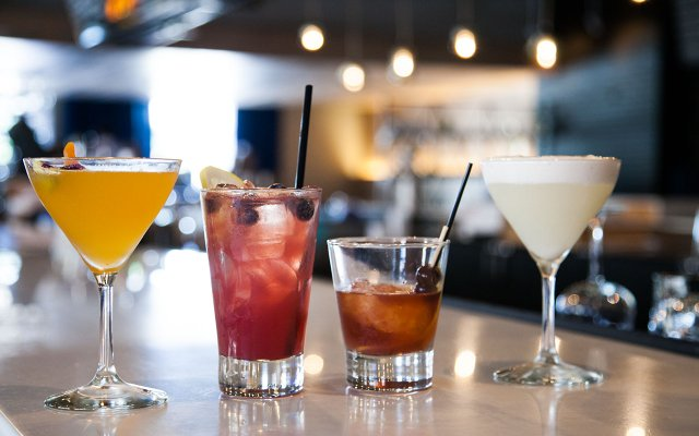 Cocktails at Libertine's
