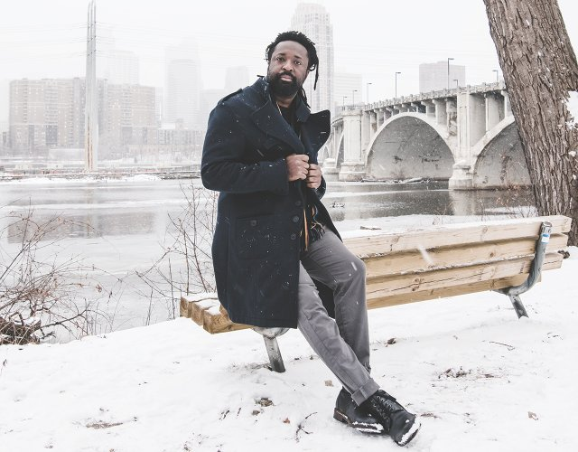 Marlon James in Minneapolis