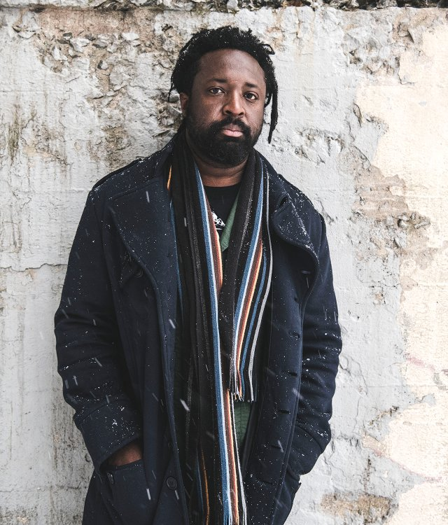 Marlon James in Minneapolis