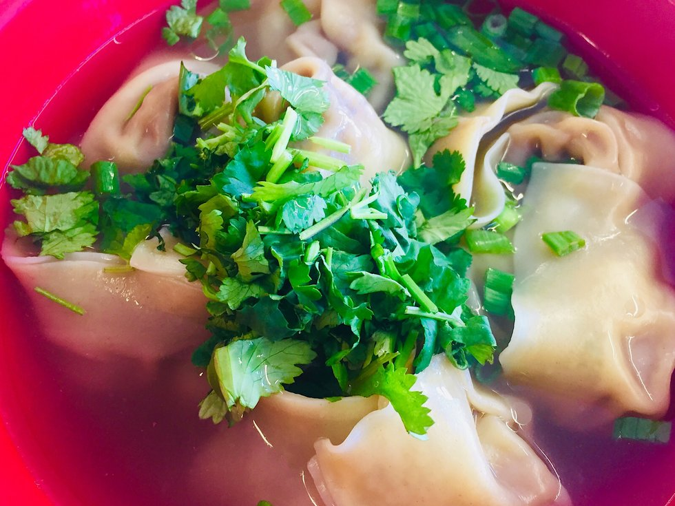 one great plate shanghai kitchen's wonton soup  mplsst