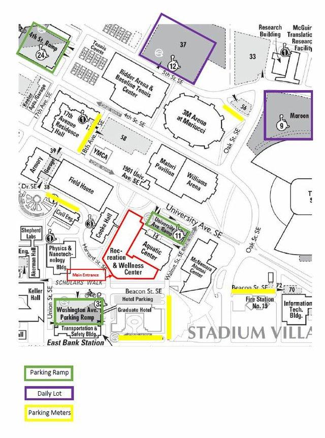 fit fest parking map