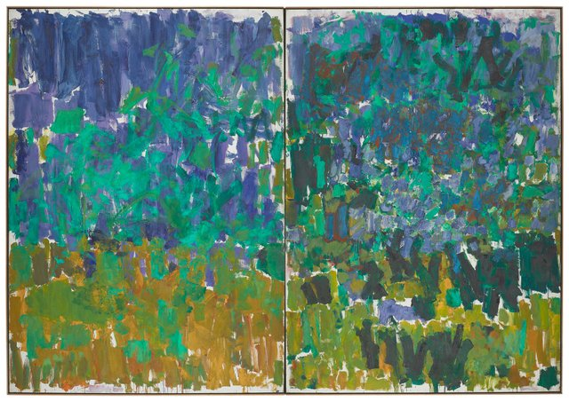 Joan Mitchell, Posted, 1977.