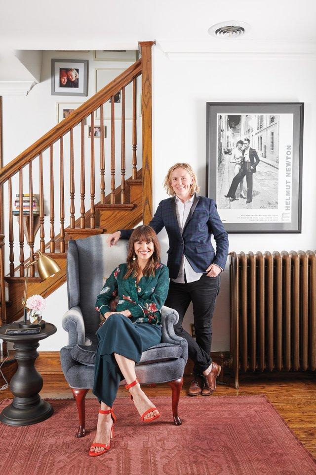 Ann Mathews and Becky Burley