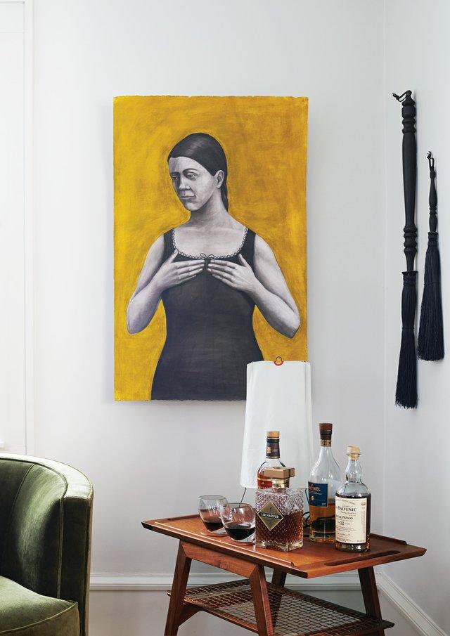 Melba Price Painting