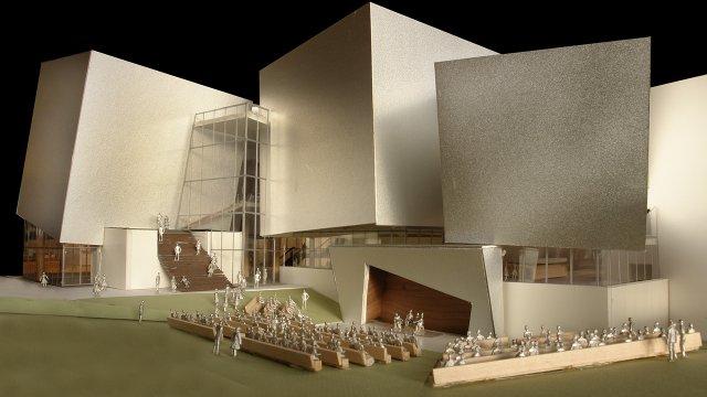 Orchestra Hall design concept