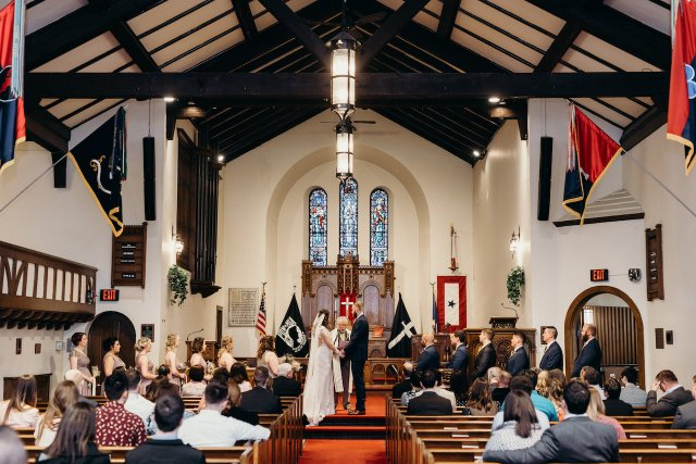 Jessica and Taylor's ceremony